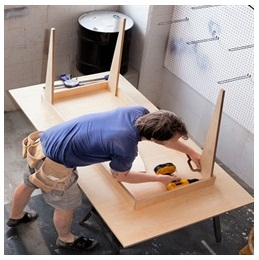 Сборка столов по низким ценам в Люберцах от специалистов