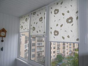 Установка рулонных штор на пластиковые окна в Люберцах