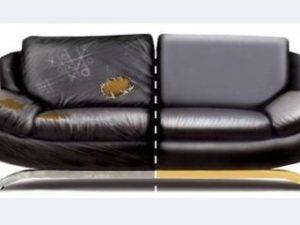 Перетяжка кожаного дивана в Люберцах